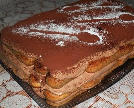 brza torta sa piskotama