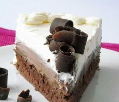 Torta sa dve vrste cokolade