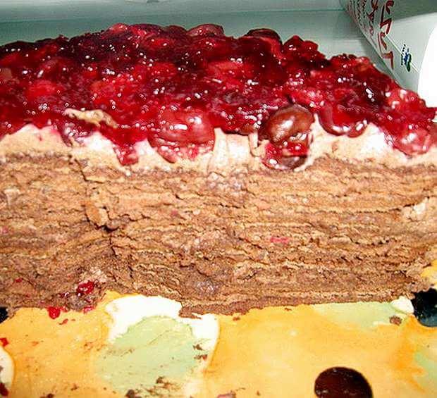 posna torta od kafe i dzema