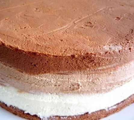 Torta sa tri vrste čokolade