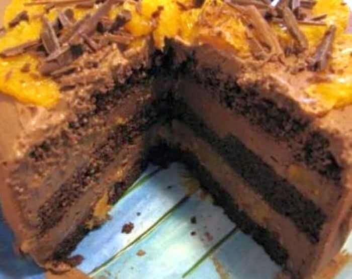 torta od cokolade i narandze