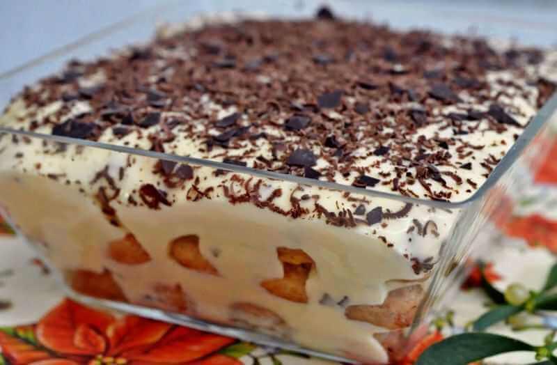 tiramisu sa cokoladom