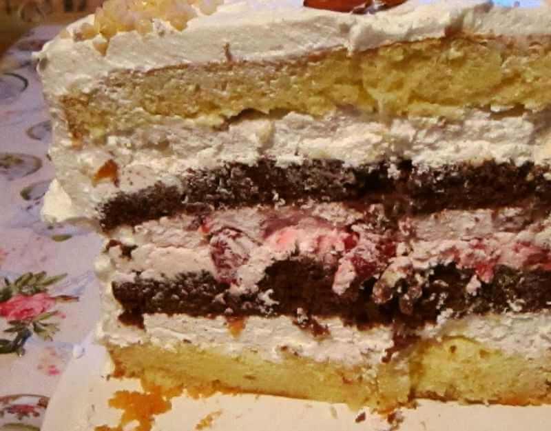 torta sa visnjama