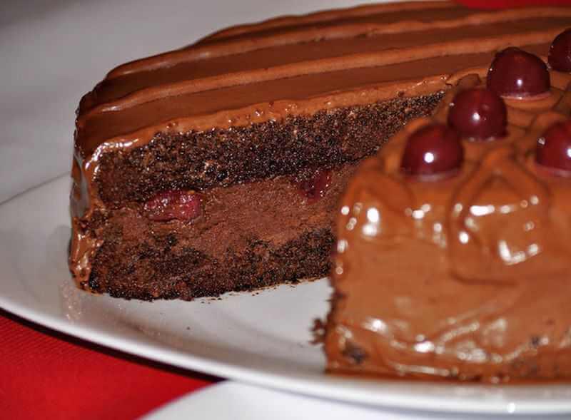 torta od cokolade i visanja