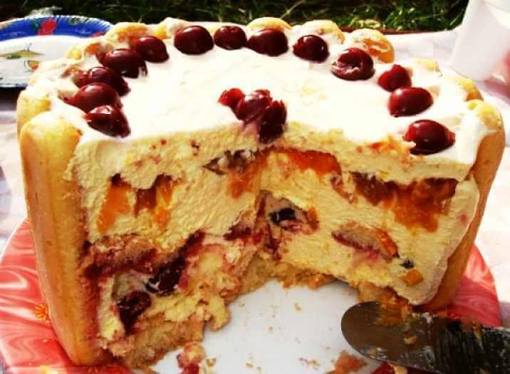 nepecena vocna torta