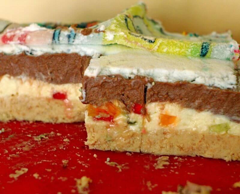 nepecena pesak torta