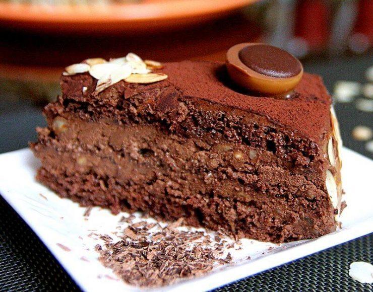 toffifee torta