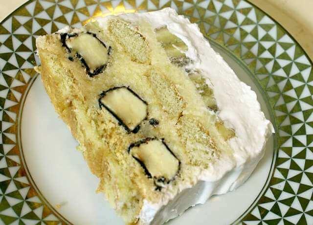 torta sa bananicama i piskotama