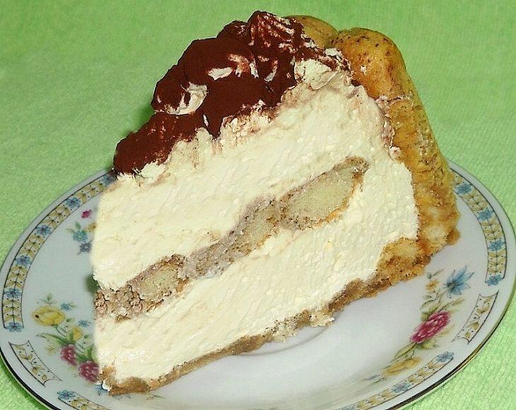 piskota torta sa kafom