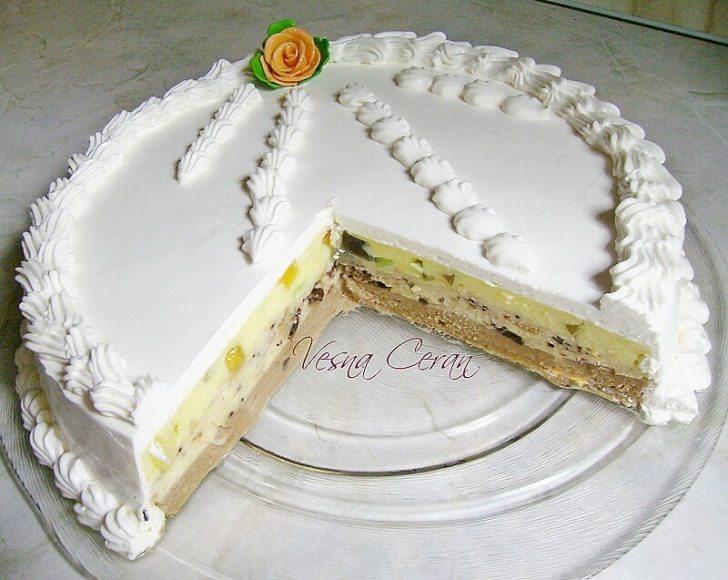 sarena pesak torta