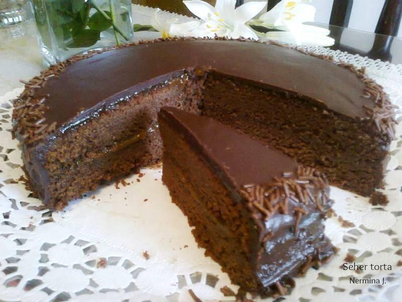 sascher torta recept