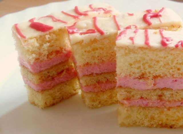 Roze  kolač