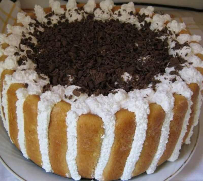 torta od cokolade i piskota
