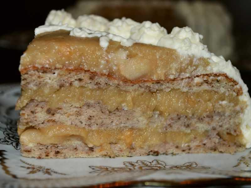 torta sa jabukama i orasima