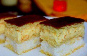 Kokos vanila kolac