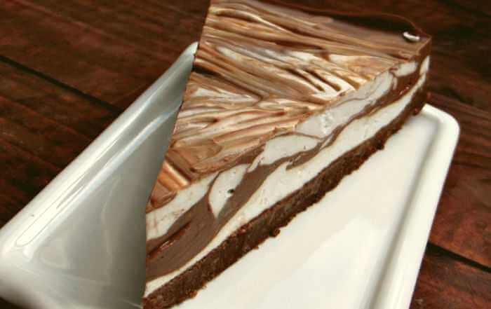 mramorna torta od čokolade slika