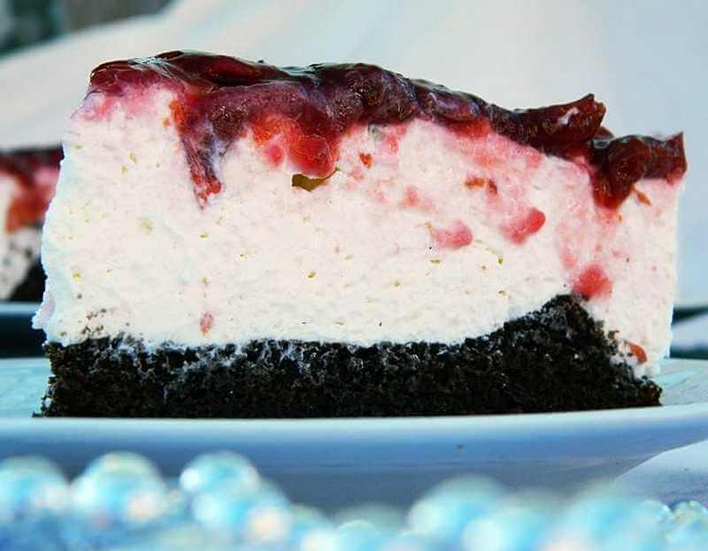 torta sa krem sirom i jogurtom
