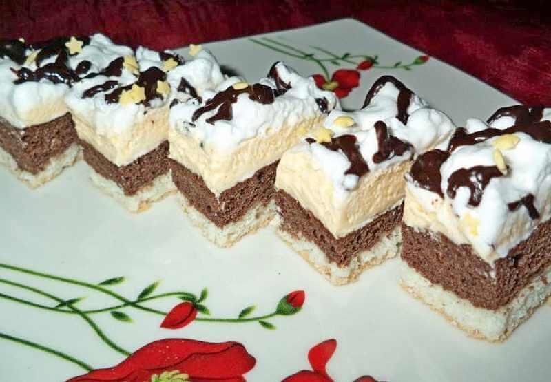 kokos kolac sa vanila kremom
