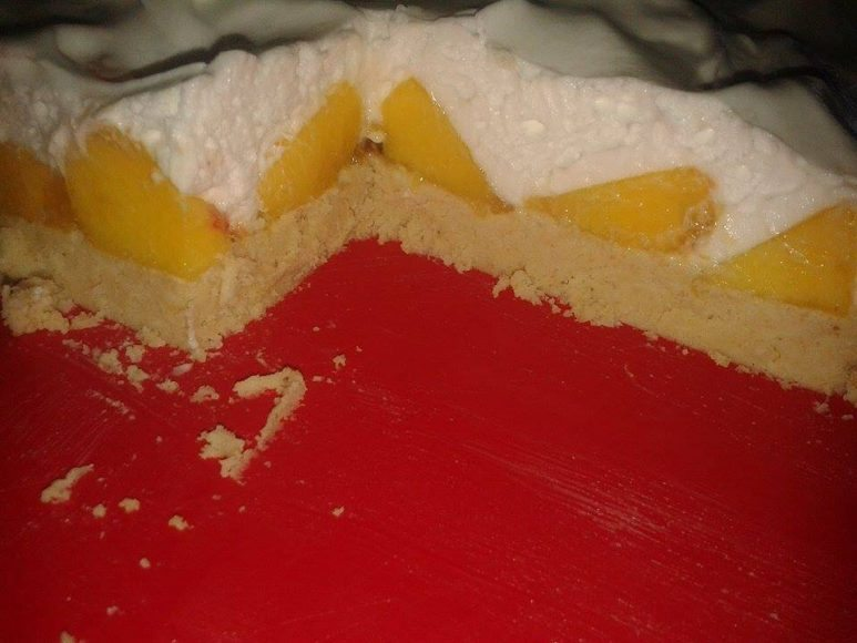 brza torta sa breskvama