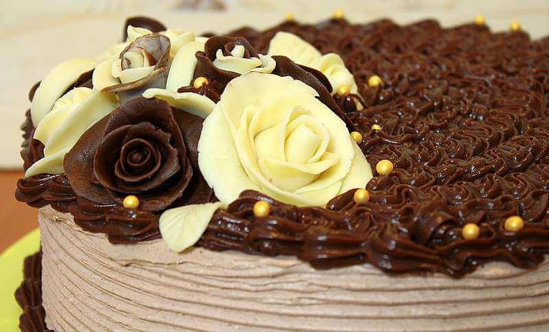 ruze od cokolade