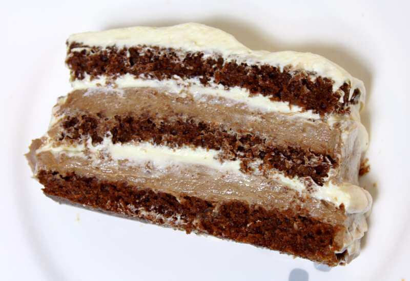 posna cokoladna torta