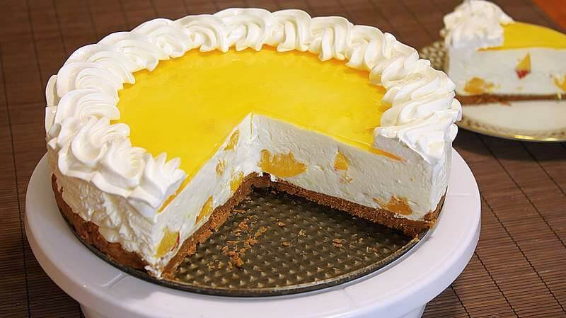 nepecena torta sa breskvama