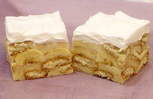 kolac sa keksom i bananama