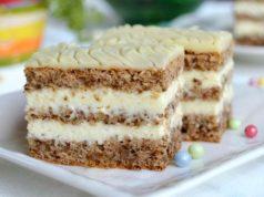 kolac sa orasima i belom cokoladom