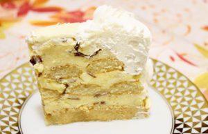 nepecena torta sa bananicama i piskotama