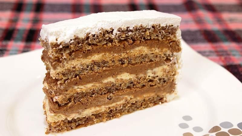 torta sa ukusom oraha i karamele