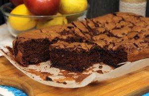 brauni kolac sa cokoladom